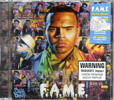 CHRIS BROWN - F A M E - MUSIC CD