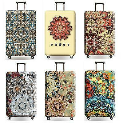 Mandala Luggage Suitcase Cover Travel Protector Bag Scratch Dust WaterProof guar