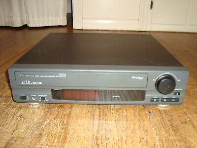 Great Working PANASONIC AG-LD30 Pro/Commercial Multi Laserdisc/CD Player TESTED