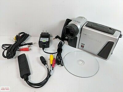 Sharp Viewcam 8mm Hi8 Camcorder for Tape Transfer to Computer USB Capture Device