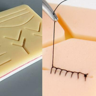 Silicone Human Skin-Model Suture Practice Pad Surgical Training Simulation Tool
