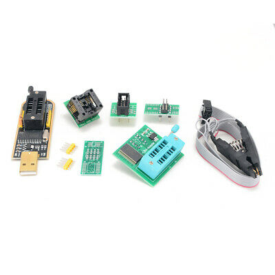 EEPROM BIOS USB Programmer CH341A + SOIC8 Clip + 1.8V Adapter + SOIC8 Adapter BE