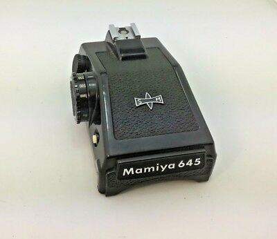 Mamiya M645 Metered Prism For M645 1000s With Instruction Manual