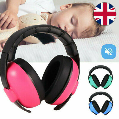 Child Kids Folding Ear Defenders Noise Reduction Protectors Muff Children Baby U