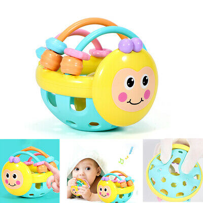 Baby Cute Rattle Toy Animal Bee Shape Bed Stroller Hanging Rattle Toys Gift Hot