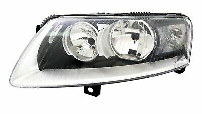 HEADLIGHTS Left For AUDI A6 4F 10/08-3/11 H7 H15 HALOGEN Daytime Running Light
