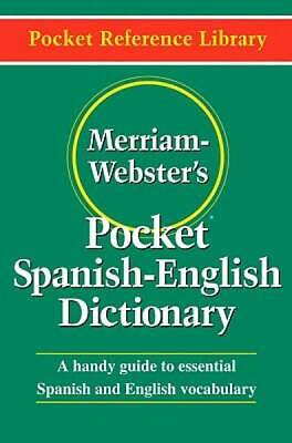 Merriam-Webster's Pocket Spanish-English Dictionary (Flexible paperback)