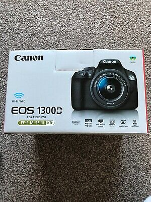 CANON EOS 1300D DSLR Camera with EF-S 18-55 mm f/3 5-5 6 III