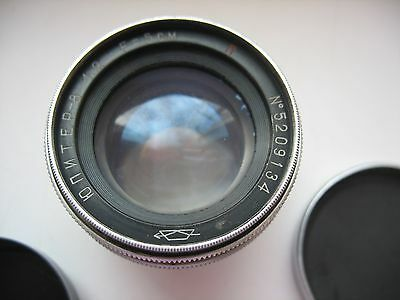 Old Russian Kiev/ Contax Lens KMZ Jupiter 8 №52*** Used Sonnar copy Zeiss Leica