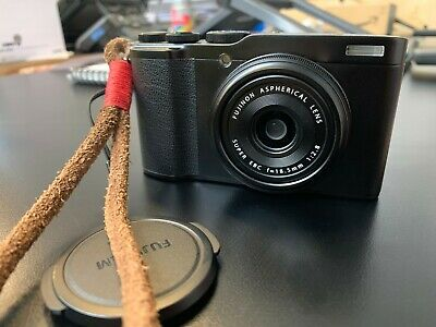 Black Fujifilm XF10 24.2MP Digital Camera - Barely used in immaculate condition.