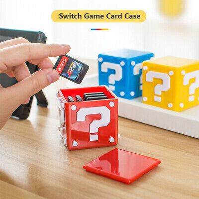 Game Card TF Card Case Memory Cards Holder Protector Cover For Nintendo Switch