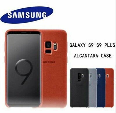 Genuine Official ALCANTARA Case Cover For Samsung Galaxy S9/S9+ Note9 Boxed