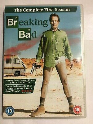 Breaking Bad - Season Series 1 - Complete DVD  NEW & UNsealed Q12