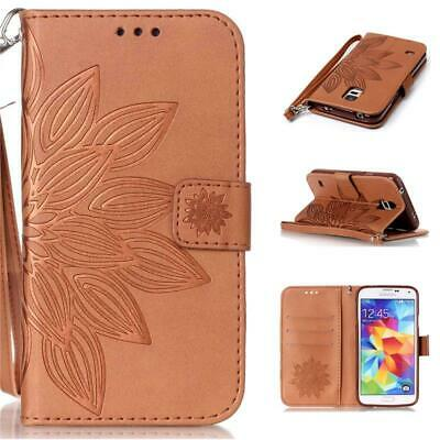 Luxury Leather Wallet Card Case Flip Cover For Samsung Galaxy S3 S4 S5 S6 S7 S8+