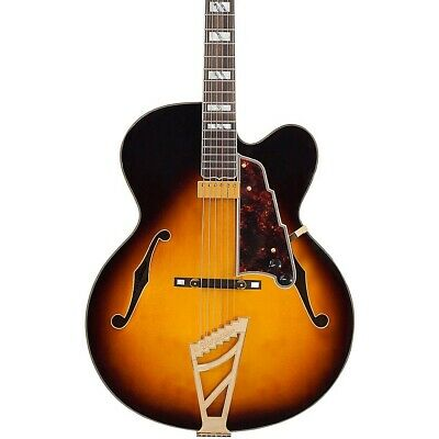 D'Angelico Excel EXL-1 Hollowbody Guitar Vintage Sunburst 190839540300 Open Box