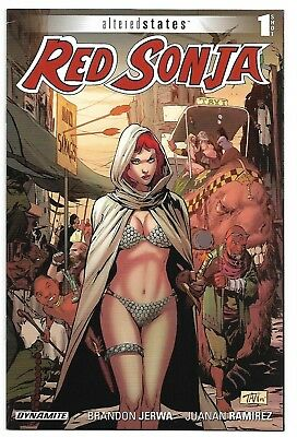 Red Sonja Altered States One-Shot Dynamite Comic 2015 NM BILLY TAN COVER