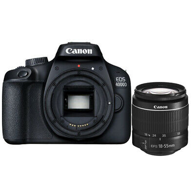 Canon EOS 4000D EF-S 18-55mm f/3.5-5.6 III Lens Kit Multi ship from EU Mejor