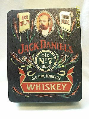 JACK DANIEL'S OLD No. 7 BRAND RICH MELLOW SIPPIN SMOOTH COLLECTIBLE  TIN W/LID