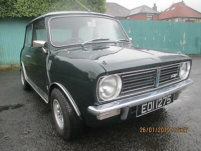 Austin Mini 1275GT 1972- complete with 1275 registration number