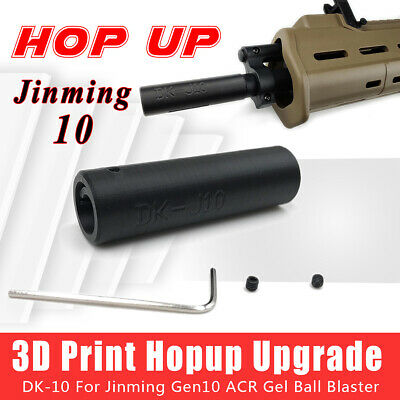 Upgrade Jinming ACR J10 Hop Up 7-8mm Gel balls Blaster Gun DK J10 Hopup OZ