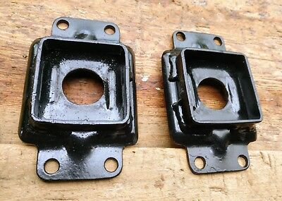 Reproduction Coombs Competition Rear Leaf Centre Mount Plate for Jaguar Mk1 Mk2