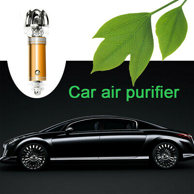 Universal Auto Car Mini Fresh Air Ionic Purifier Oxygen Bar Ozone  Clean Ionizer