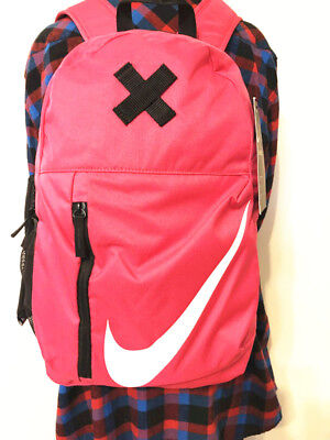 44acc475c9 NWT NIKE ELEMENTAL BACKPACK Young Athletes RUSH PINK School Book Bag ...