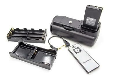 Battery grip + adapter LP-E10 + remote control for Canon EOS 1100D