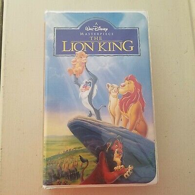 The Lion King (VHS, 1994) Walt Disney Masterpiece - Hakuna Matata - (No Worries)