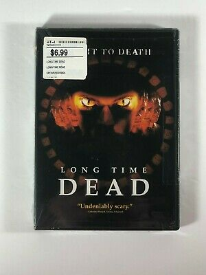 Long Time Dead Widescreen DVD 2003 Brand New Factory Sealed Horror Rated R