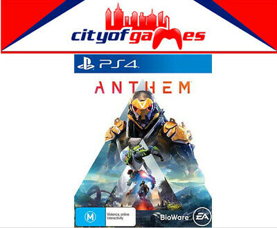 Anthem PS4 Game Brand New & Sealed