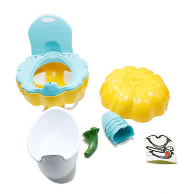 Baby Kids Potty Toilet Pee Training Trainer Chair Foldable Back Toddler Loo Seat