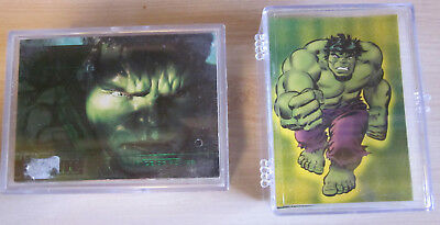 Hulk - 2 x Trading Card Base Set - Topps / Upper Deck