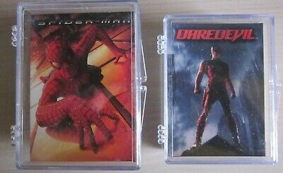 Marvel Movies - 2 x Trading Card Set - Topps
