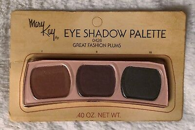 RARE Vintage Mary Kay Eye Shadow Palette 0426 Great Fashion Plums