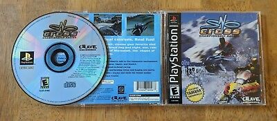 Sno-Cross Championship Racing Sony PlayStation 1 PS One Complete Tested Working