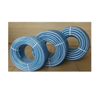 Clear PVC Braided Technical Hose Pipe Air Oil Water Reinforced ZBR