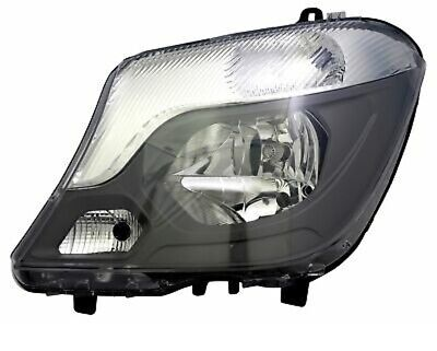 Headlight Left Mercedes Sprinter 906 2013- H7 LWR Daytime Running Light
