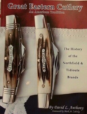 GREAT EASTERN CUTLERY VALUE GUIDE COLLECTOR'S BOOK Tidioute Northfield