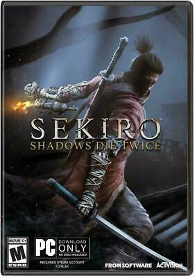 SEKIRO SHADOWS DIE TWICE per PC - ITALIANO ORIGINALE - STEAM