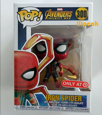 Iron Spider Man Avengers Infinity War #300 Funko Pop Marvel Comics Vinyl Figure