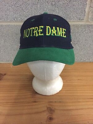 af3affe824a75 VINTAGE UNIVERSITY OF NOTRE DAME FIGHTING IRISH THE GAME FITTED HAT Sz 6 7 8
