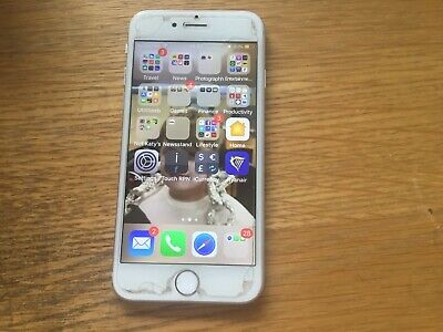 Apple iPhone 6s - 128GB - Silver (Unlocked) A1688 (CDMA + GSM)