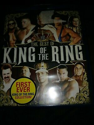 NEW WWE WWF The Best of King Ring Wrestling Blu Ray Undertaker Stone Cold AEW