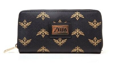 Zelda- Hyrule Zip Around Ladies Wallet