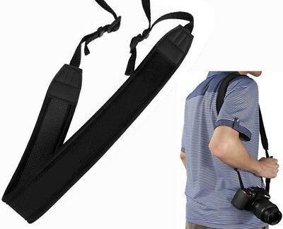 Correa Neck Shoulder Neopreno Compatible con Canon Eos 5D 6d 7D 1d Mark i II III