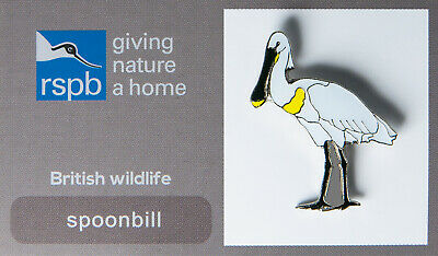 RSPB Pin Badge | spoonbill GNAH (00552)