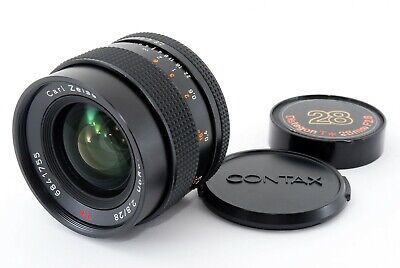 [Mint] Contax Carl Zeiss Distagon T* 28mm f2.8 MMJ Lens CY From Japan 416284