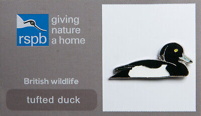 RSPB Pin Badge | tufted duck GNAH (00607)