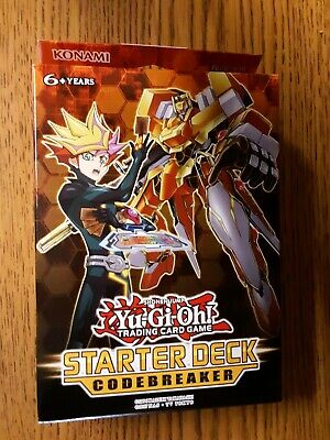 New//sealed//free shipping Yugioh Codebreaker Starter Deck and FREE BOOSTER PACK